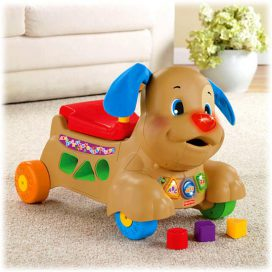 Ходунки каталка fisher price 2 в 1