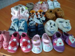 разнообразие детской обуви
