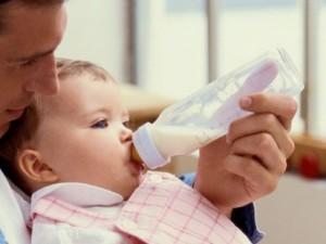 частота кормления ребёнка смесью