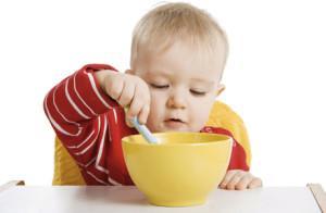 учим ребенка кушать ложкой самостоятельно