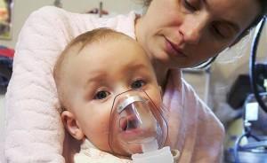 Применение ингаляций от насморка детям