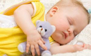 Отсутствие сна у новорождённого ночью