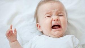 Плач ребёнка после сна