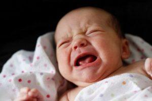 Плач ребёнка во сне