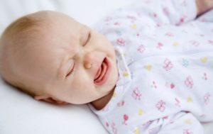 Плач годовалого ребёнка по ночам