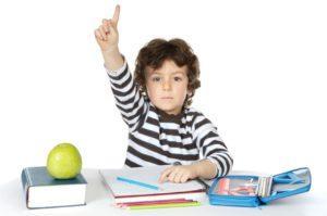 ребенок 6 лет учится