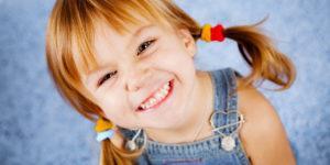красивая детская улыбка