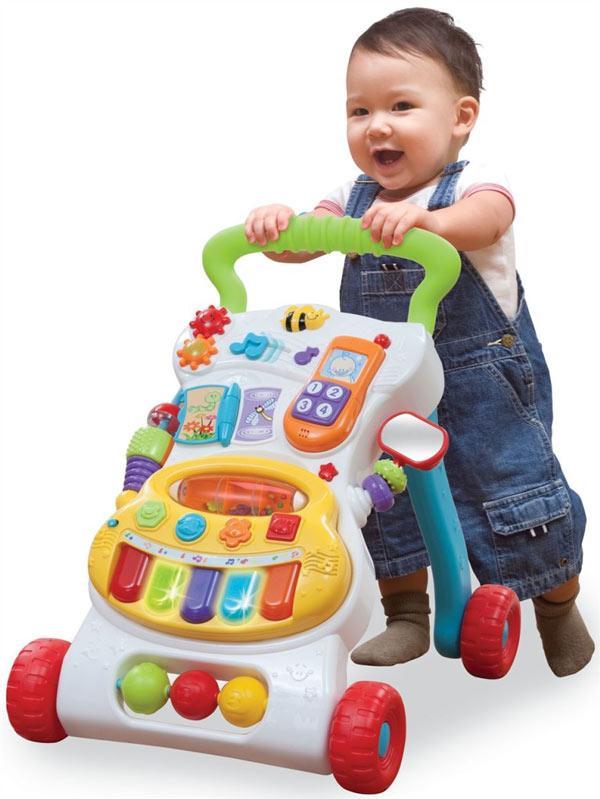 Ходунки каталка как опора при ходьбе для ребенка