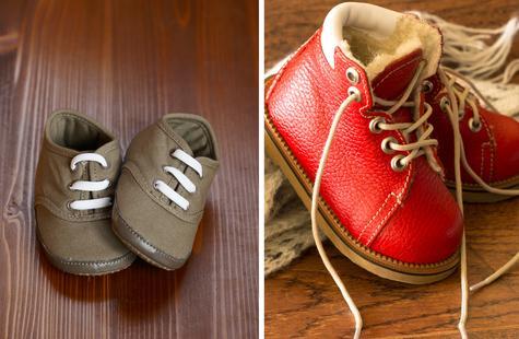 Важно: как подобрать обувь по размеру для годовалого ребенка
