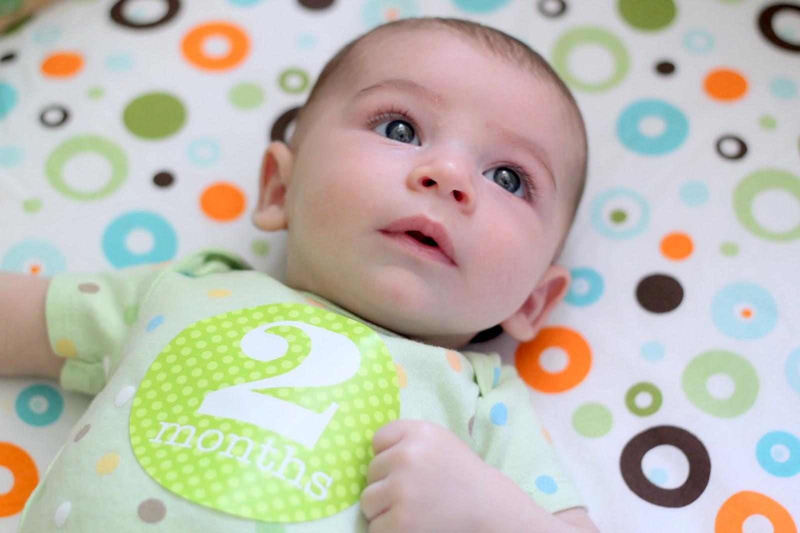 Как видит малыш в 2 месяца