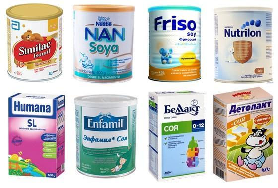 Выбор смеси при аллергии грудничка
