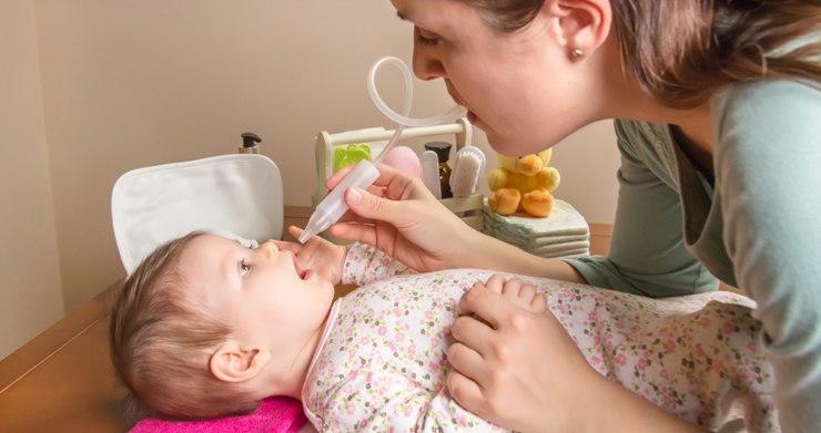 Лечение насморка у 3 месячного ребенка