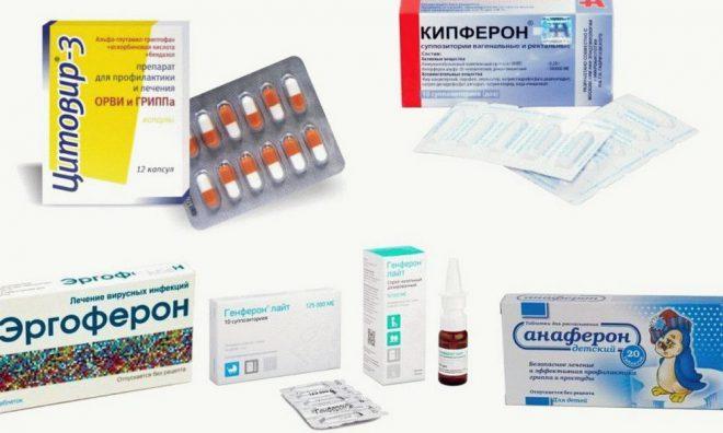 Детские препараты от простуды