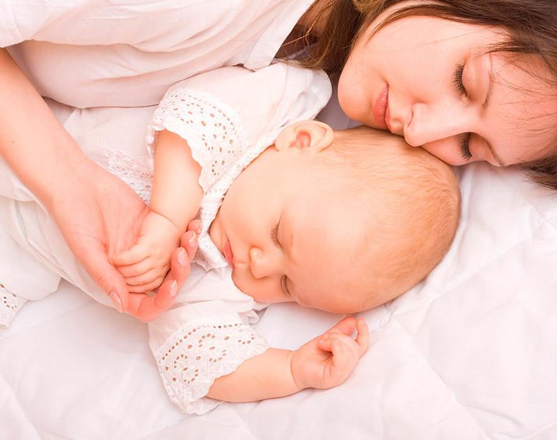 Сон малышки в шесть месяцев