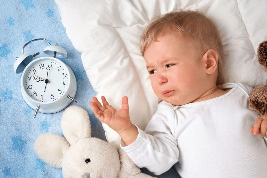 Плохо засыпает в 8 месяцев