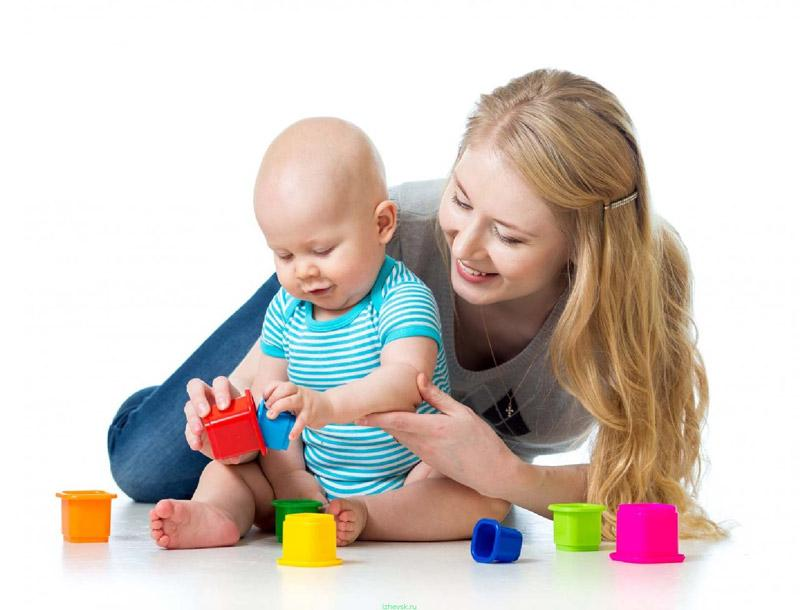 игры с 7 месячным малышом
