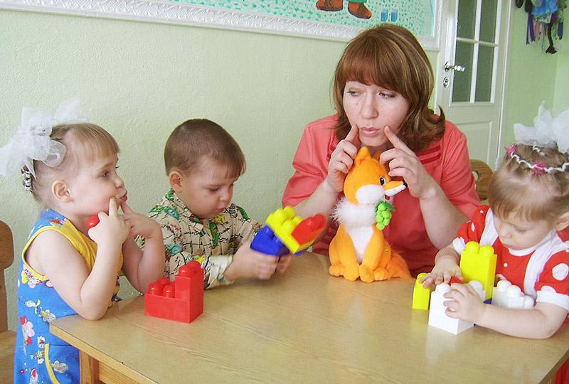Развитие сенсорики у ребёнка 3-х лет