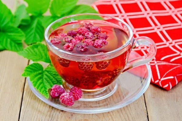 малиновый чай при насморке