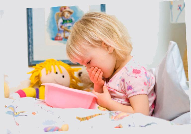 Рвота у ребенка без температуры: причины и симптомы