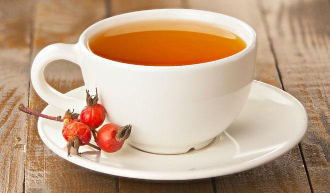 Чай с шиповником при краснухе