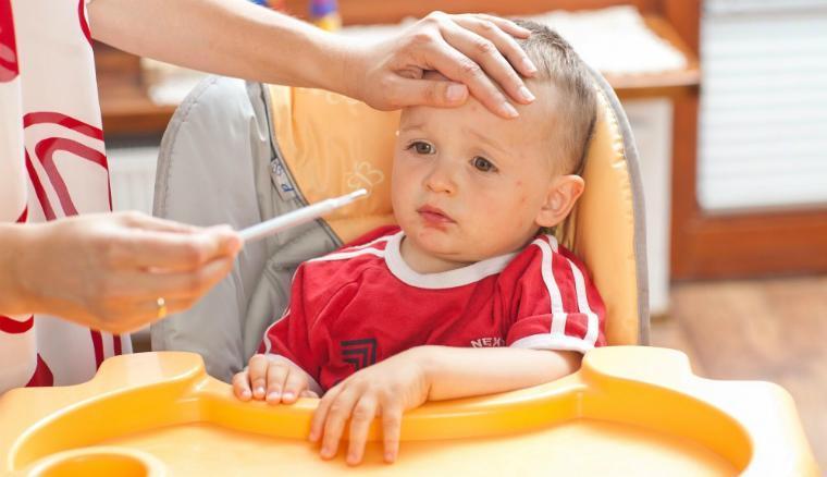 Осложнения при краснухе у детей