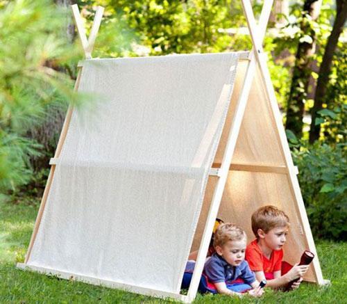 Тайная комната для ребенка на даче